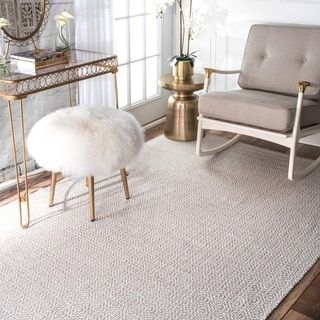 Shop for nuLOOM Handmade Flatweave Diamond Taupe Cotton Rug (5' x 8'). Get free shipping at Overstock.com - Your Online Home Decor Outlet Store! Get 5% in rewards with Club O!