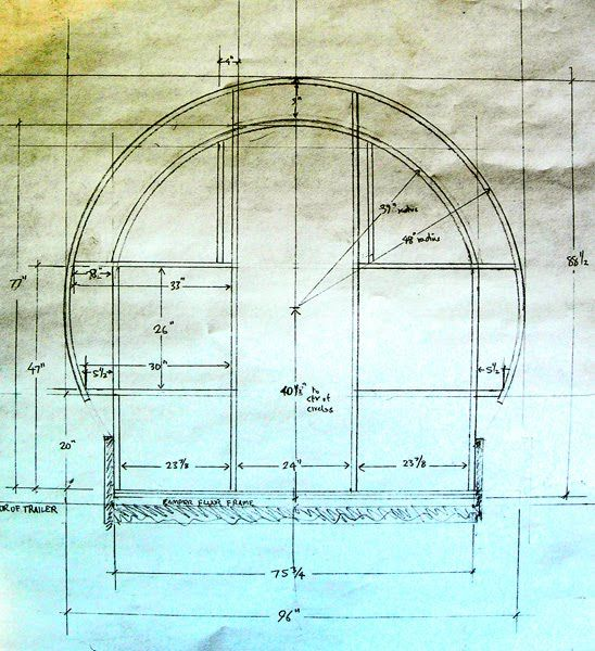 plans for the framing of the back wall. | transport | pinterest