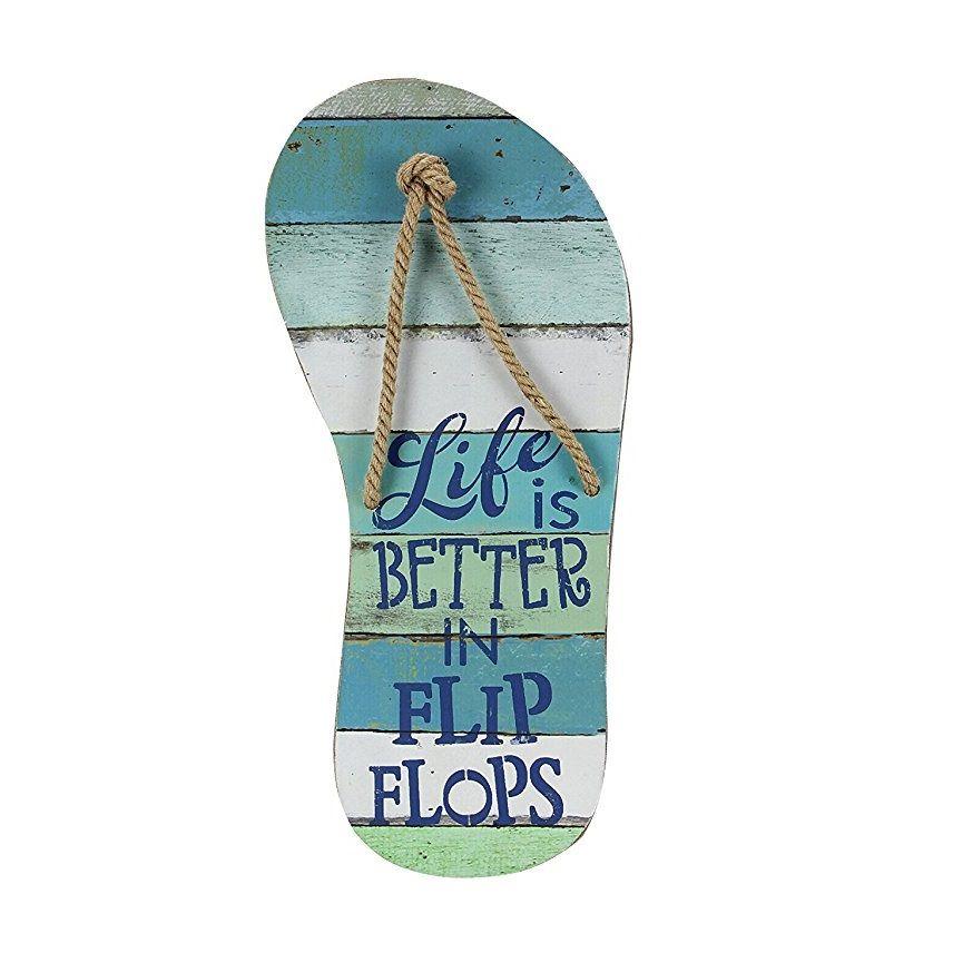 8+ Flip Flop Decorations For 8 - Beachfront Decor