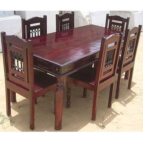 We Cant Tell A Lie The Colors And Wood Grain Is Stunning In Philadelphia Cherry Dining Room Table Chair Set This Elegant Mix Of Wrought Iron