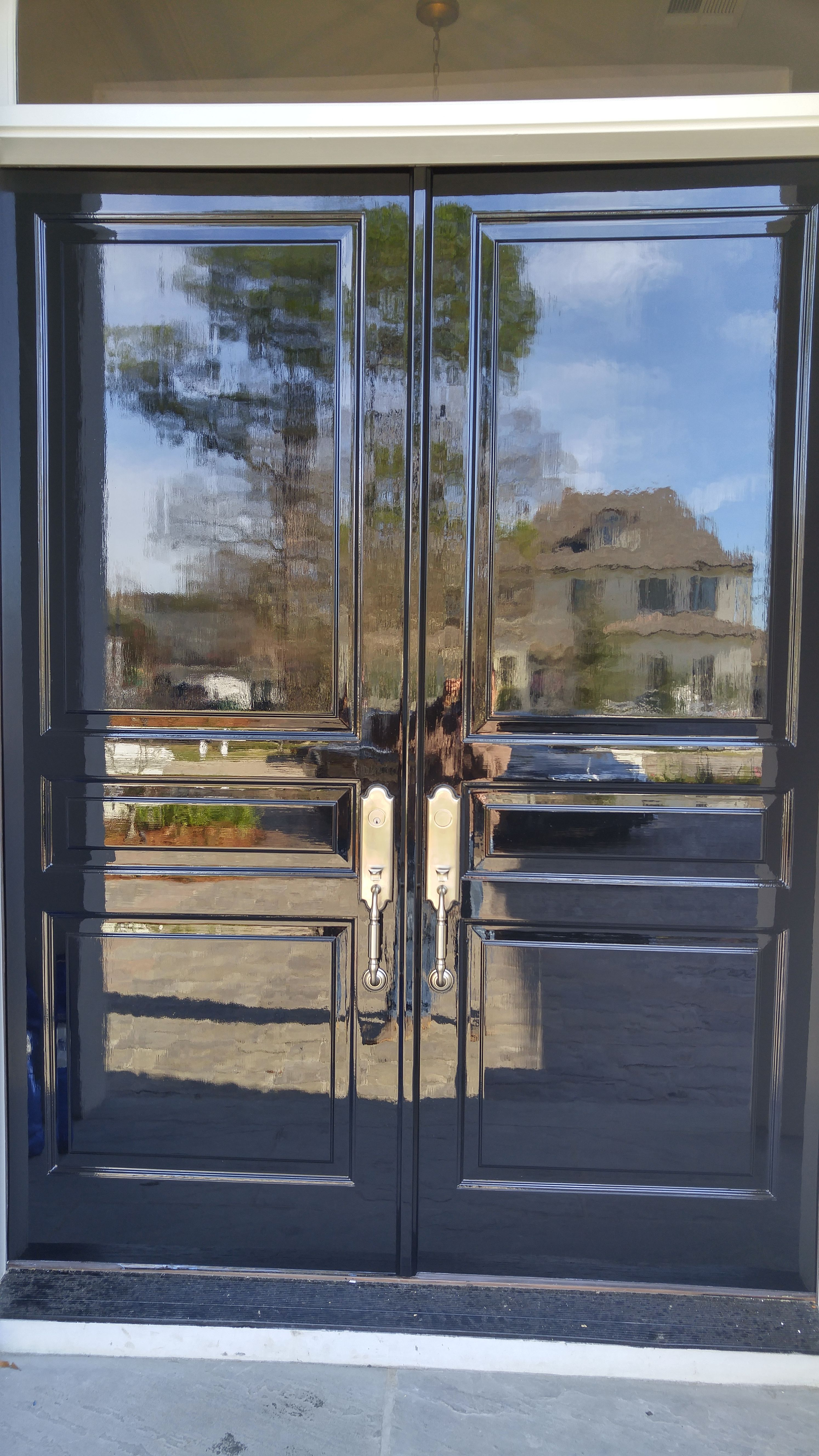 Gorgeous Front Door With High Gloss Fine Paints Fine Paints