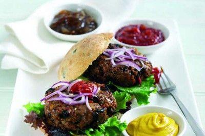 Beef steak burgers. #ProteinFood #Summer #BBQ