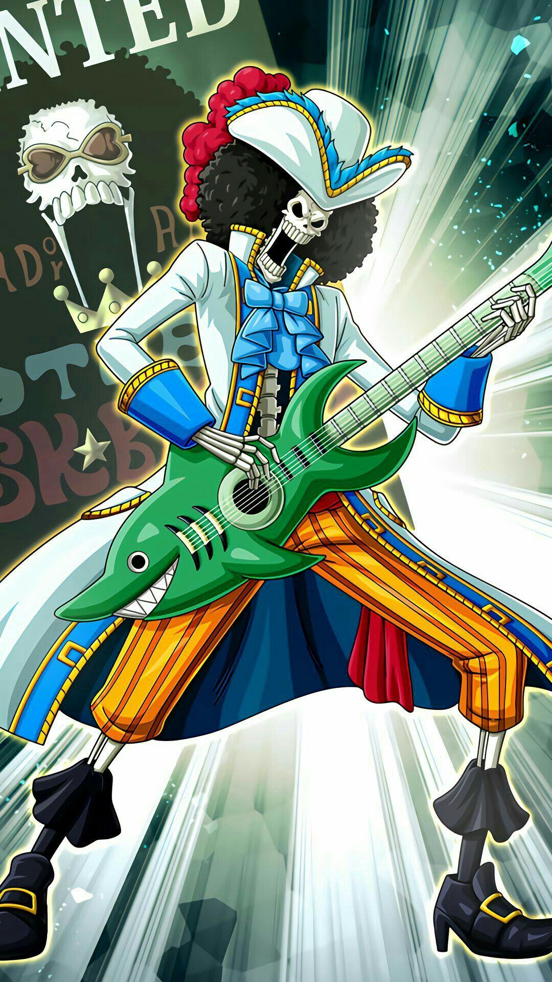 Brook One Piece One piece anime, Desenho de anime