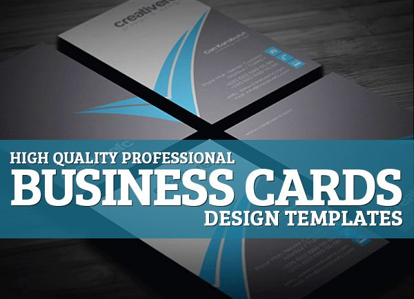 High Quality Professional Business Cards Design Templates - Professional business card design templates