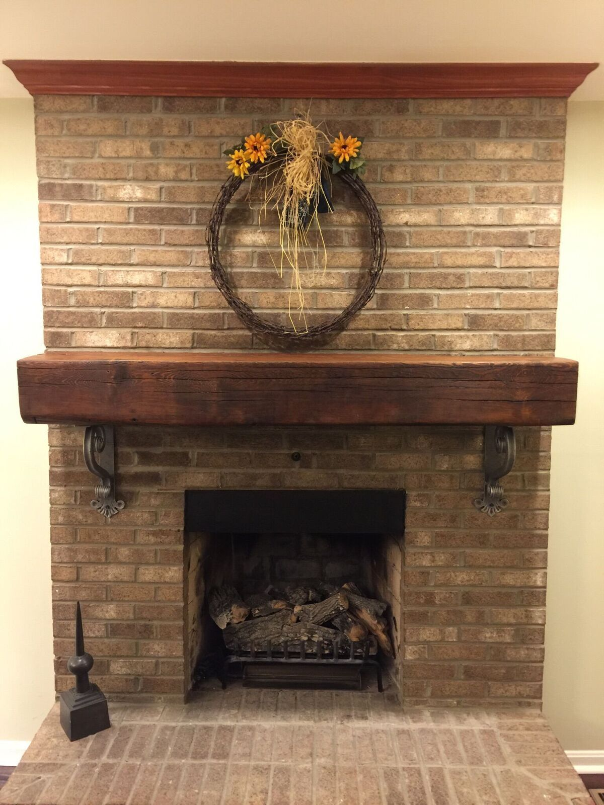 Fireplace portal with your own hands 11
