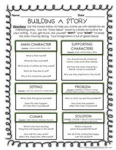 building a story creative writing outline writing pinterest