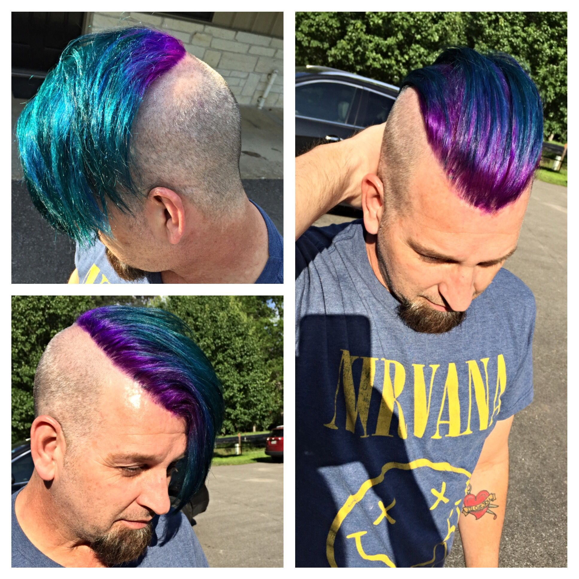 How Awesome Is My Co Workers Hair I Did Today Genskeeper Hair