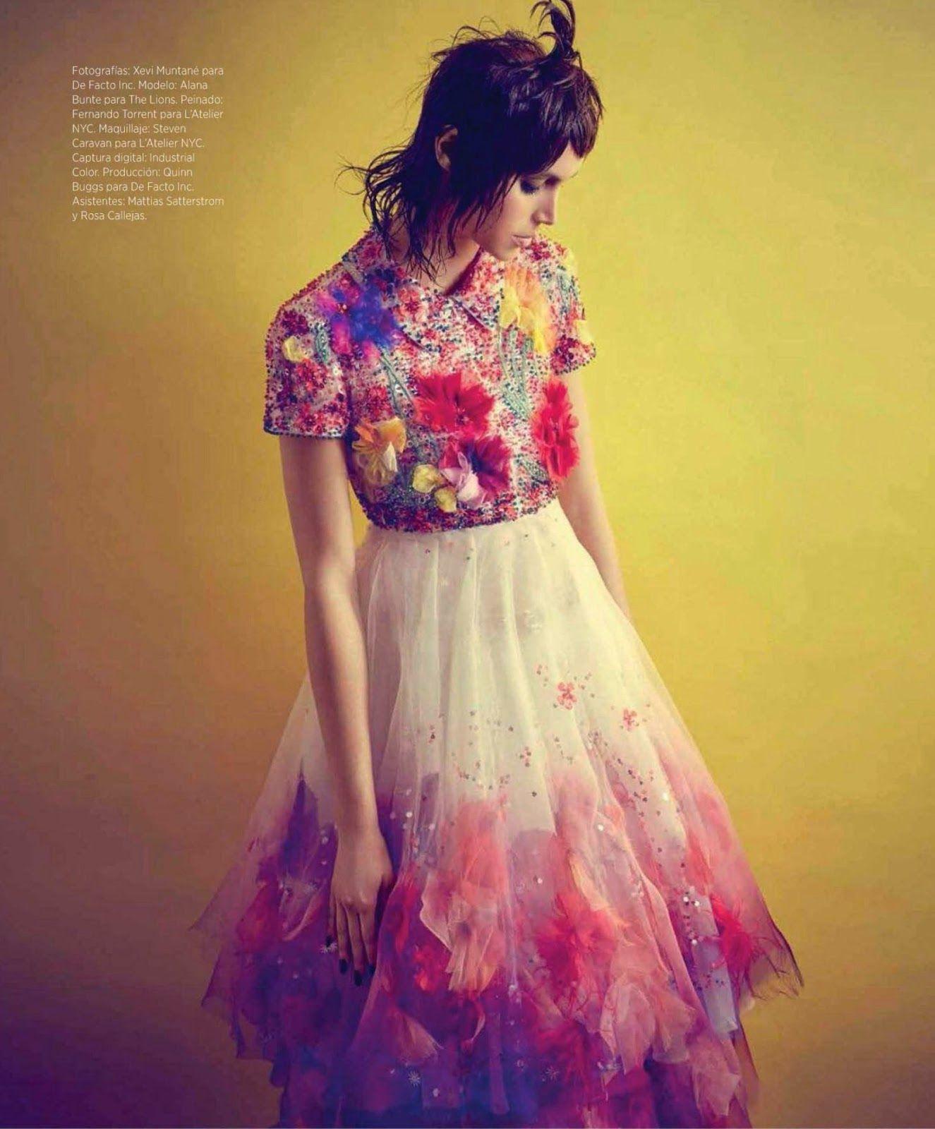 Duchess Dior: Alana Bunte in Chanel Couture for Harper's Bazaar Mexico May 2015