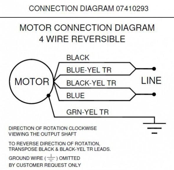 bodine motor wiring diagram diagram diagram, wire, travel AC Motor Parts Diagram