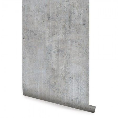 Cement Concrete Wallpaper Peel And Stick In 2019 Concrete Wall Fabric Wallpaper Cement Walls
