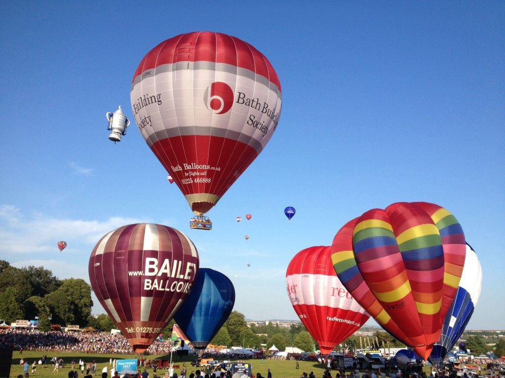 Bristol balloon fiesta Family days out