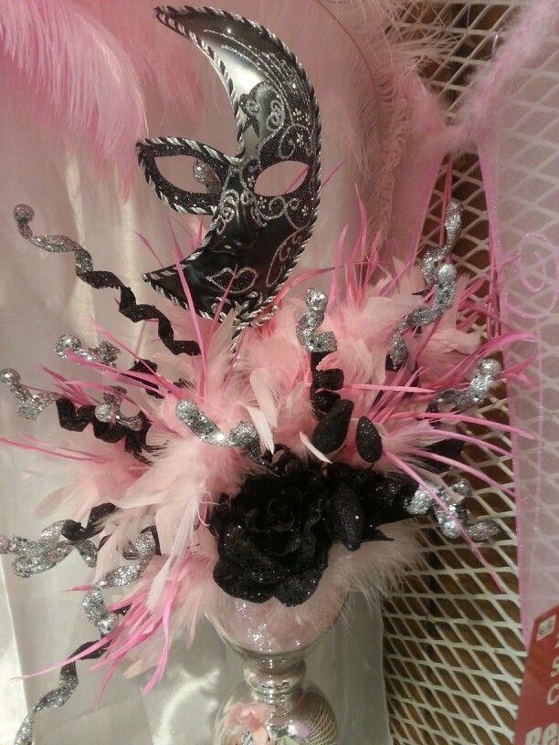 Centerpiece for a masquerade ball