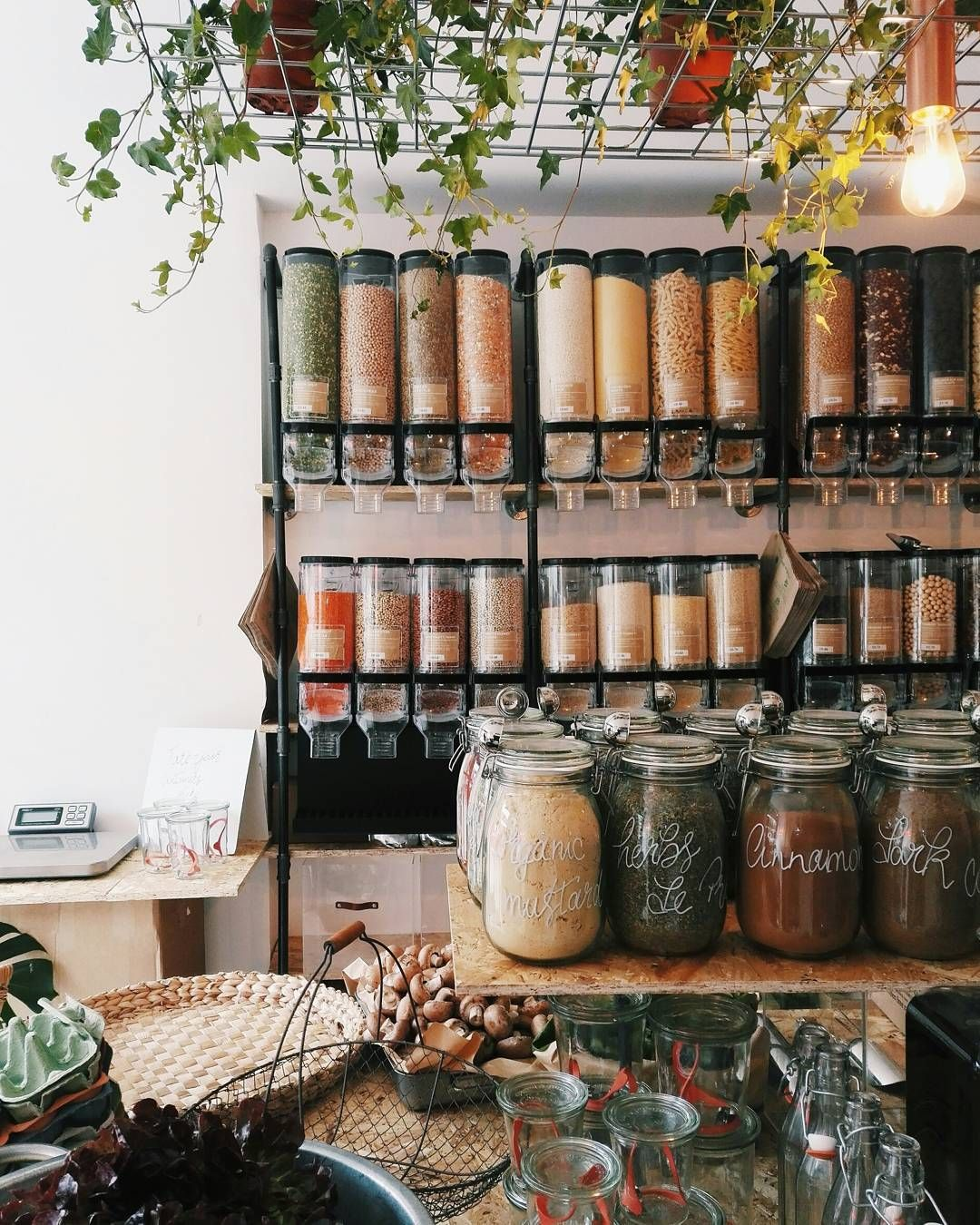 Say goodbye to plastic wrapping, containers, tins and boxes. There's a new way to buy your groceries in London.