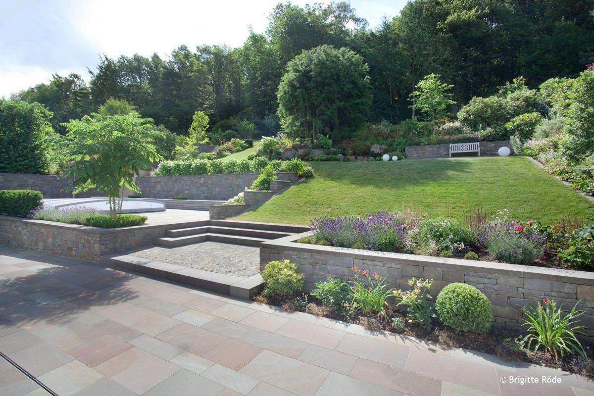 """Inspiring Gartengestaltung Hang Best Choice Of Projekt """"garten In Hanglage""""..reviewpetitineutural"""