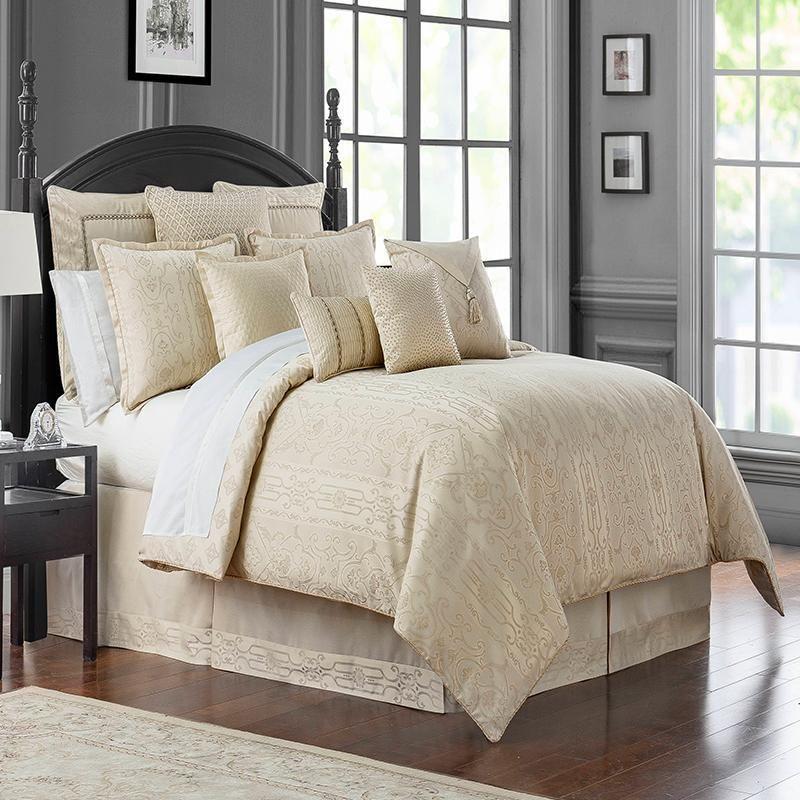 7 Piece Denton Comforter Set In 2020 Comforter Sets Bedroom
