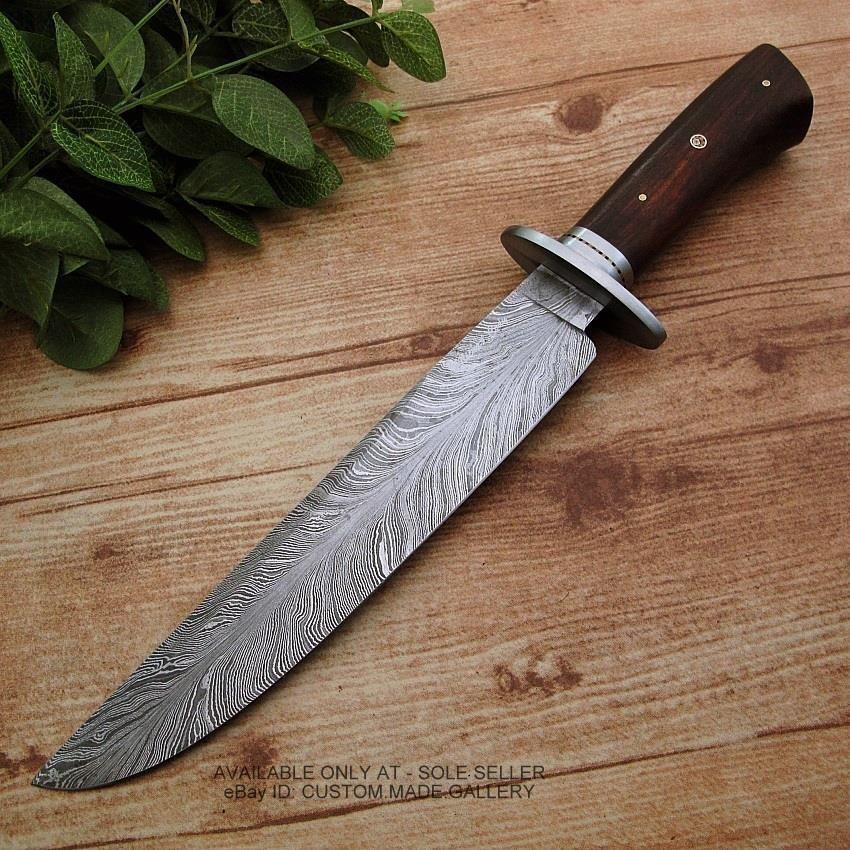 Michael Cody S Custom Handmade Feather Pattern Damascus Steel