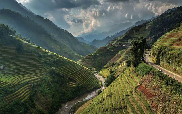 Road to Heaven,Mu cang chai,Vietnam. by Jakkree