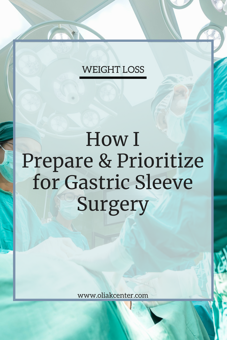 How I Do The Gastric Sleeve Operation