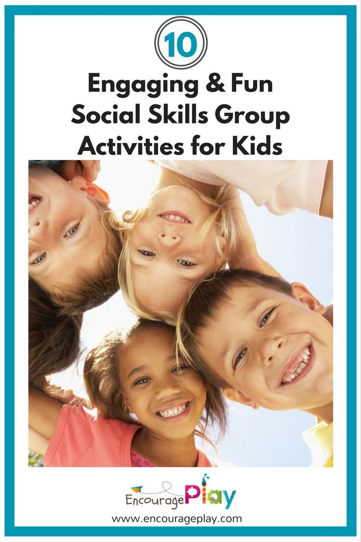 10 Engaging And Fun Social Skills Group Activities For Kids Group