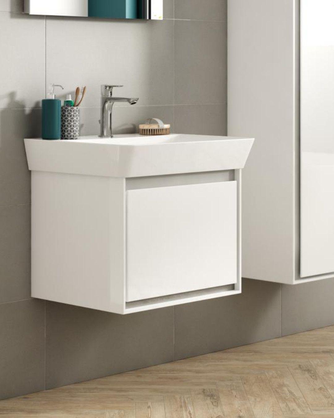 Ideal Standard Connect Air Waschtisch Mit Waschtischunterschrank Mit 1 Auszug Weiss E029901 E0844b2 Waschtischunterschrank Waschtisch Ideal Standard