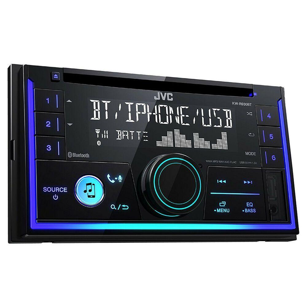 JVC 1DIN AUX USB MP3 Autoradio für Fiat Panda glänzend ab 2012