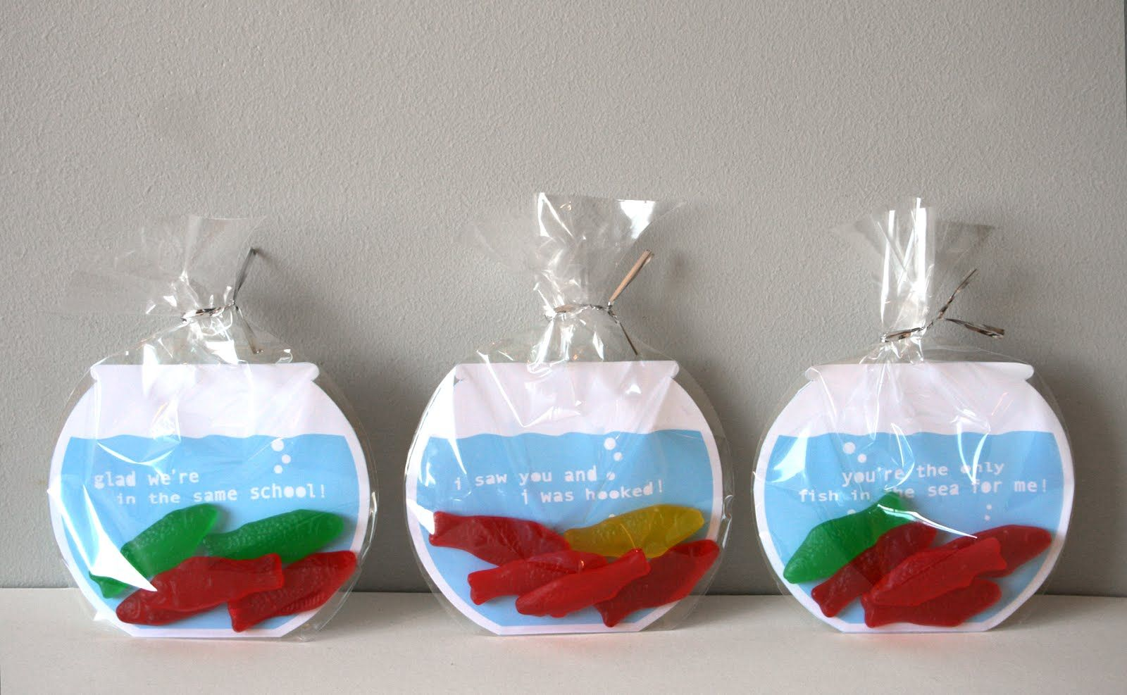 Cute idea for a silly romantic thing to give Chris when we are fishing!