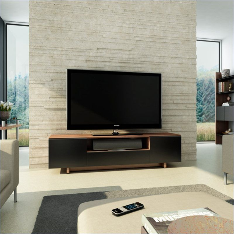 Bdi 2 000 Nora 8239 Contemporary Tv Cabinet In Natural