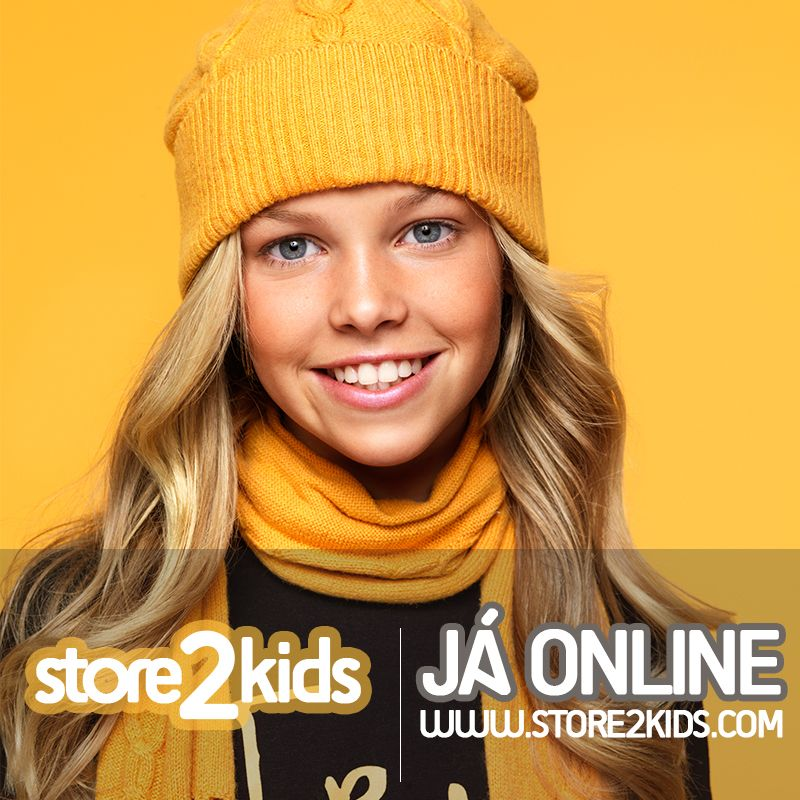 Já Online a nova loja de moda criança, bébe, recém-nascido Visite-nos em  www.store2kids.com