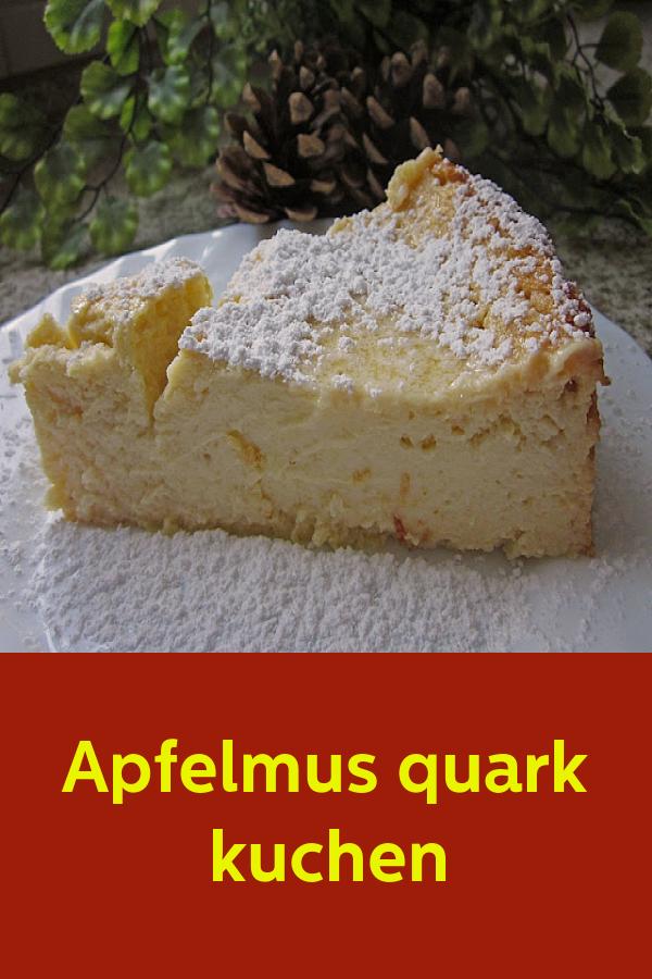 Apfelmus quark kuchen #recettesympa