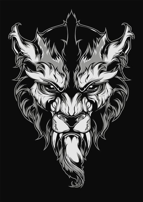 Lycanthrope Illustration on Behance