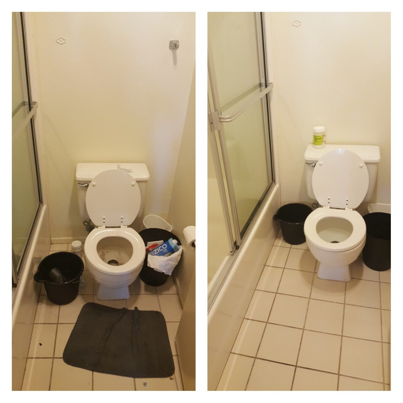 Bathroom Cleaning Before And After Quality Cleaning Services - Home bathroom cleaning service