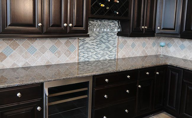 Travertine Backsplash For Kitchen Designs For The Home