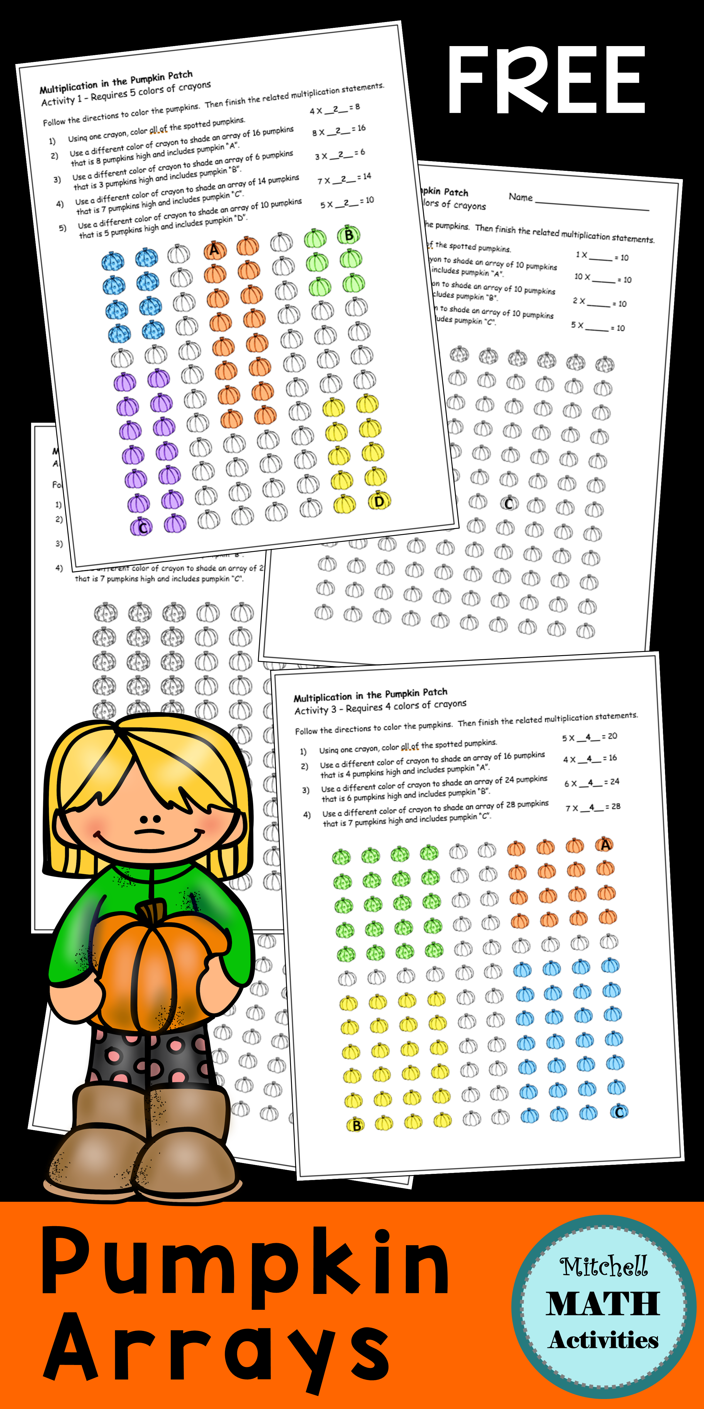 Multiplication In The Pumpkin Patch
