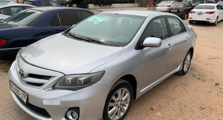 2010 Toyota Corolla Sport for sale with registration