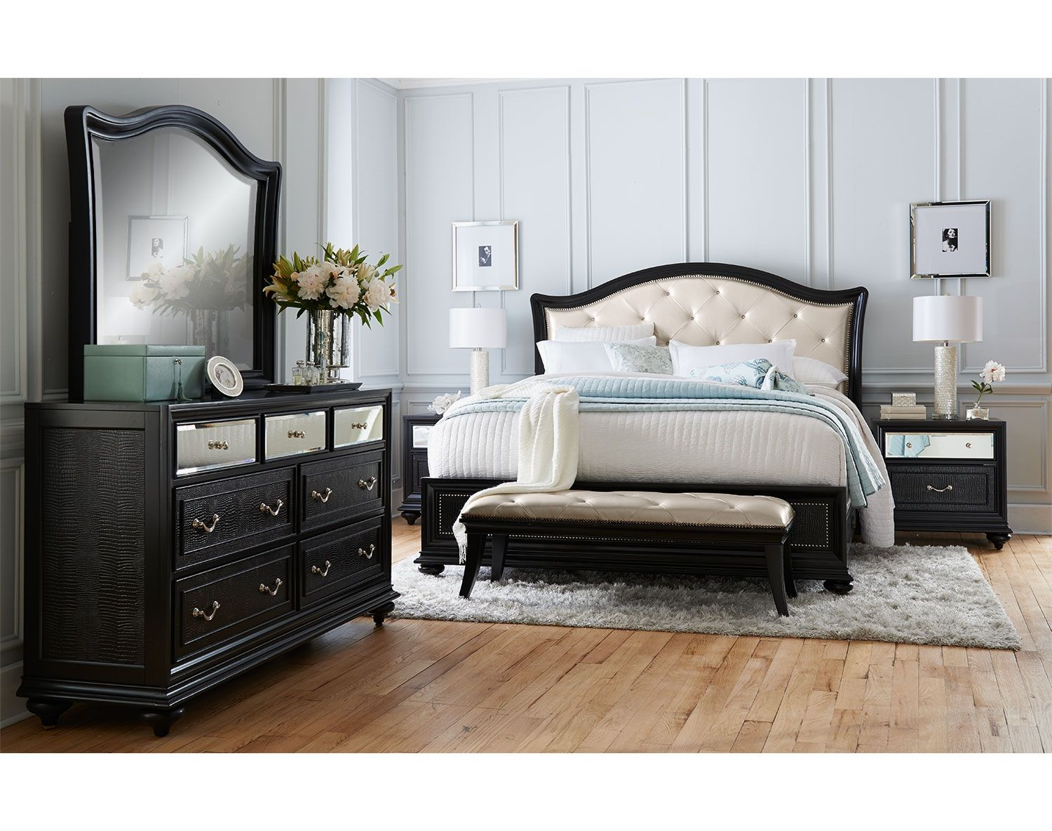 Value City Bedroom Sets Extraordinary The Marilyn Collection Value City Furniture  Bedroom