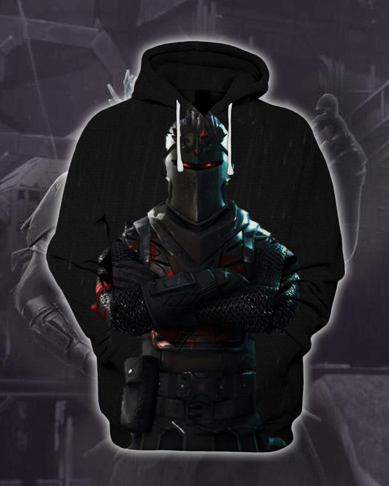 Fortnite Hoodie Fortnite Black Knight 3d Hoodie Fortnite Jacket