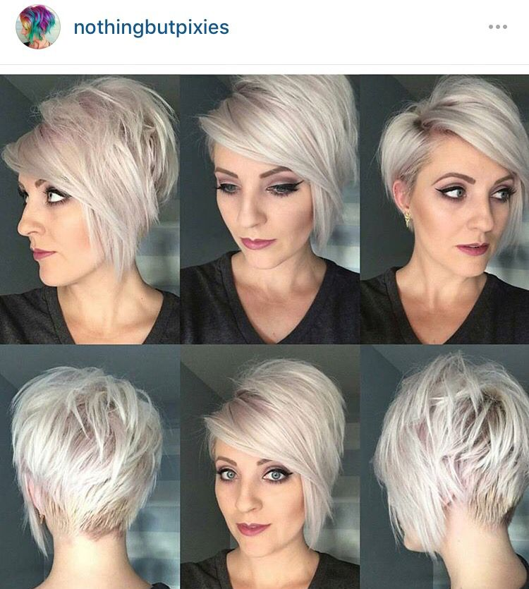 All Angles Short Hair Styles For Round Faces Thick Hair Styles Short Hair Styles