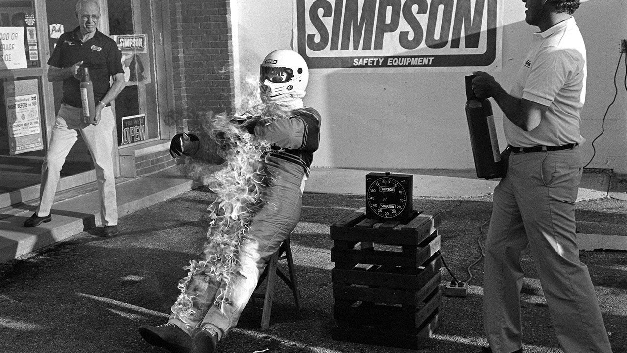 Bill Simpson, auto racing fire suit inventor, dead at 79