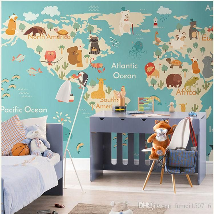 Animals Wallpaper Children Wallpaper Kids Wallpaper for Bedroom