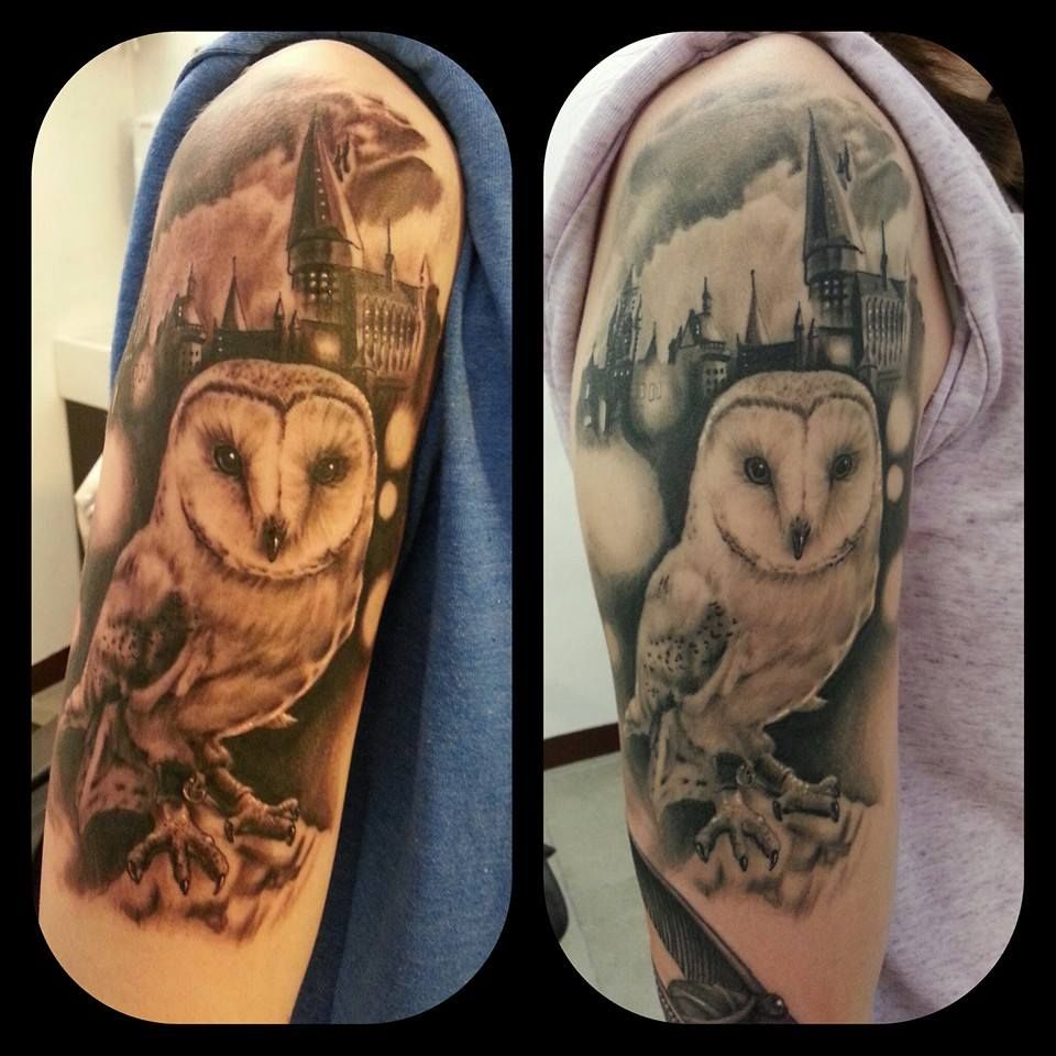 My harry potter sleeve tattoos that i love pinterest for Harry potter sleeve tattoo