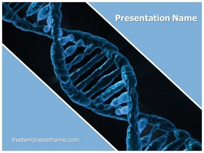 Download Free Dna Helix Powerpoint Template For Your
