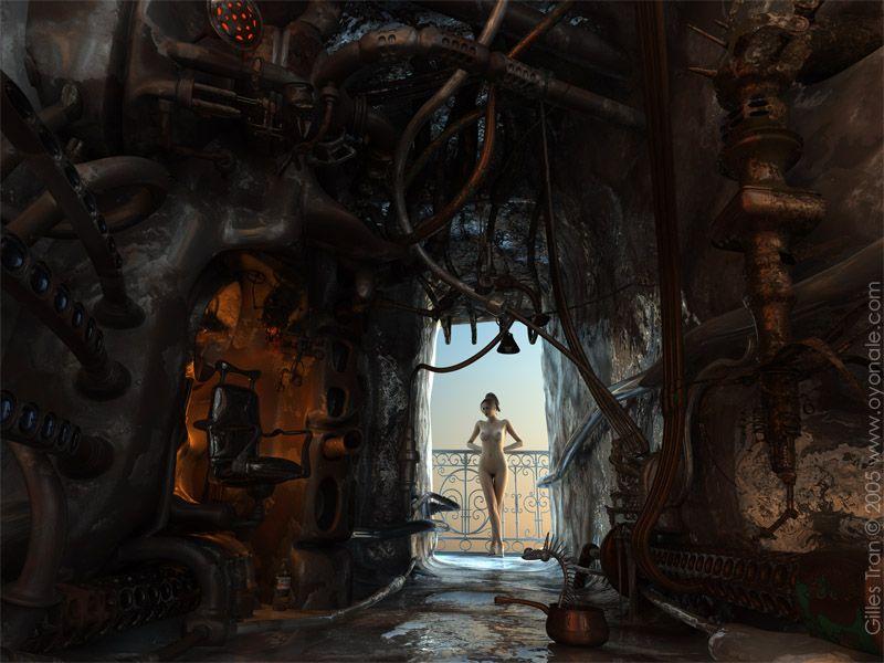 Nudes sci fi art — img 7