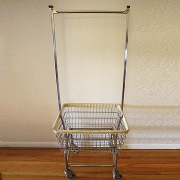 Rolling Laundry Cart If You Can T Find It Then Diy It A Clothes
