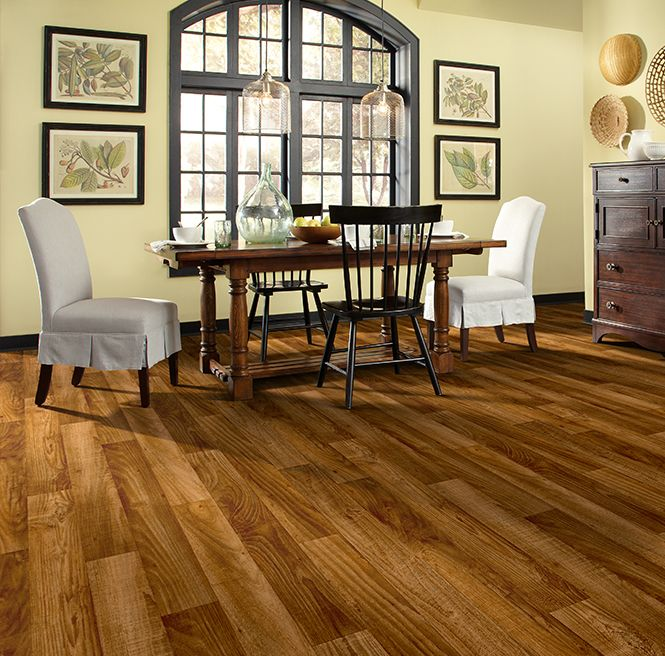 Types Of Kitchen Flooring Ideas: Sheet Vinyl Wood Flooring