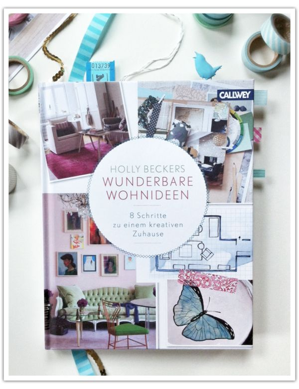"Caro from Soda Pop reviews ""Holly Beckers wunderbare Wohnideen""."