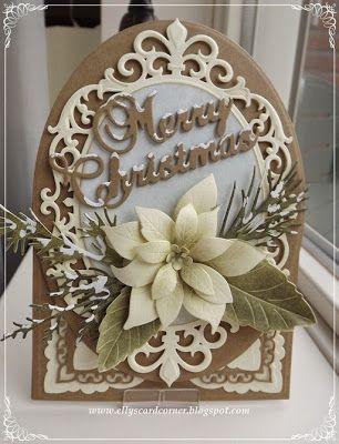 Elly's Card- Corner: Nieuwe Spellbindershttp://ellyscardcorner.blogspot.com/2014/11/nieuwe-spellbinders.html  Frantic Stamper Merry Christmas