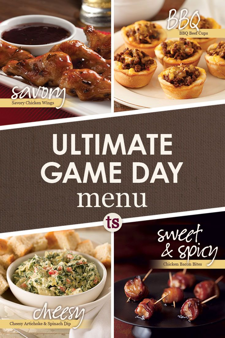Game Day Menu Tastefully Simple Savory Bbq Cheesy And Sweet Spicy Appetizers Tastefully Simple Recipes Sweet And Spicy Chicken Recipes