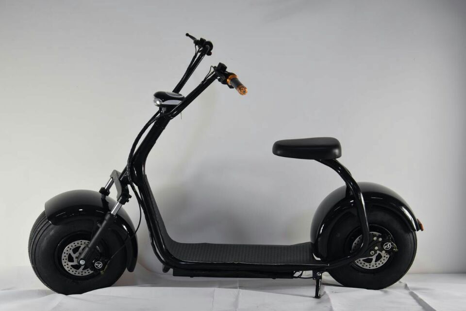 1000w 60v harley electric scooter with big wheels fashion for Big wheel motor scooter