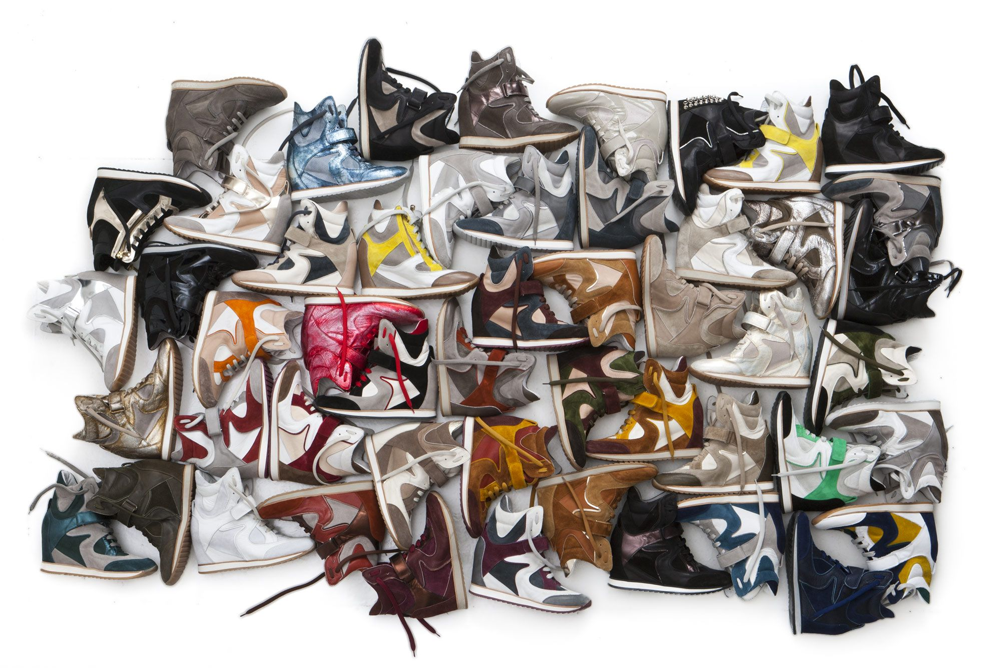 ELENA IACHI HANDMADE WITH STYLE Wedge sneakers