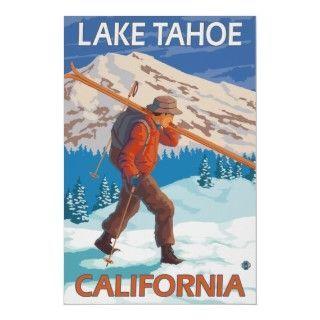 ski posters vintage | Vintage Ski Posters, Vintage Ski Prints, Art Prints, Poster Designs